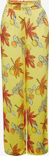ESPRIT Hose in gelb / orange / weiß, Produktansicht