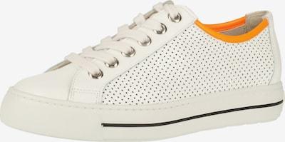 Paul Green Sneakers laag in de kleur Donkeroranje / Wit, Productweergave