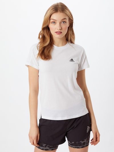 ADIDAS PERFORMANCE Sportshirt in weiß, Modelansicht