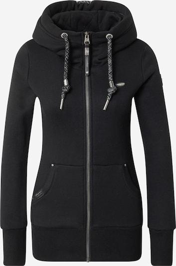 Ragwear Sweatjacke 'Neska' in schwarz, Produktansicht