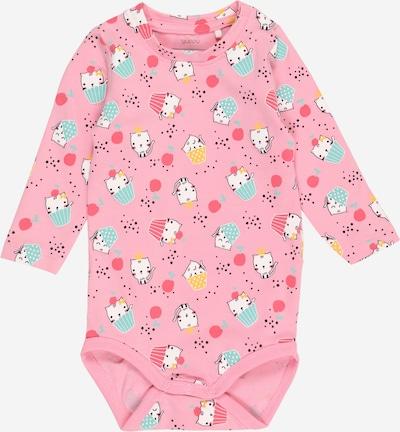 Guppy Pijama entero/body 'FAIRY' en azul claro / rosa / negro / blanco, Vista del producto