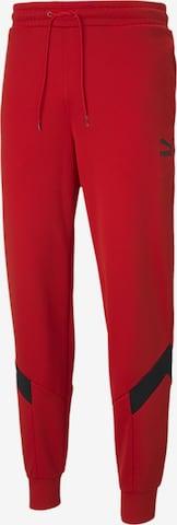 PUMA Sporthose 'Iconic MCS' in Rot