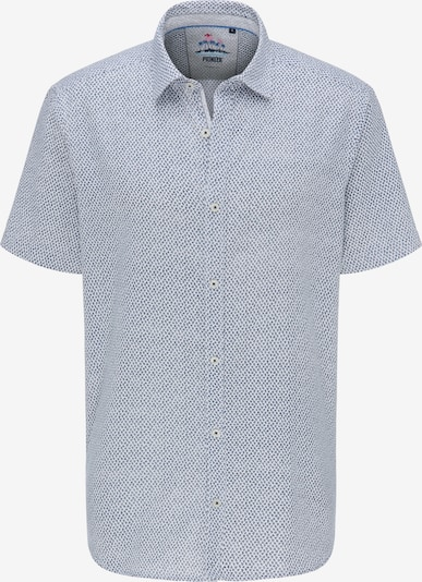 PIONEER Hemd in dunkelblau / weiß, Produktansicht