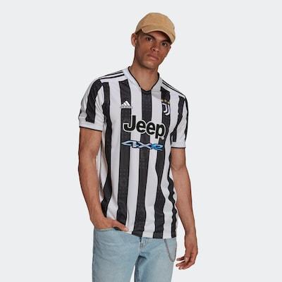 ADIDAS PERFORMANCE Trikot 'Juventus Turin 21/22' in blau / goldgelb / schwarz / weiß: Frontalansicht