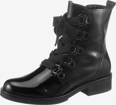 GABOR Lace-Up Boots in Black, Item view
