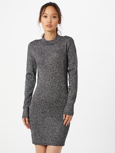 Calvin Klein Jeans Úpletové šaty - černá / stříbrná, Model/ka