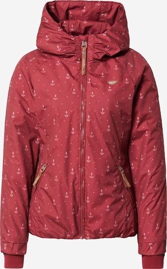 Ragwear Jacke 'DIZZIE MARINA' in weinrot / pastellrot, Produktansicht