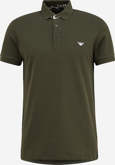 Emporio Armani T-Shirt in khaki / weiß, Produktansicht