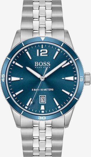 BOSS Casual Analoguhr in blau / silber, Produktansicht