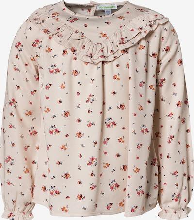 VERTBAUDET Bluse in orange / puder / rot, Produktansicht