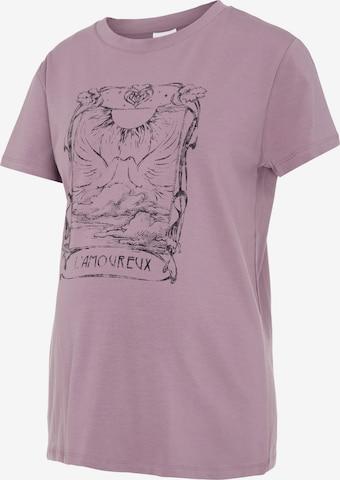 purpurinė MAMALICIOUS Marškinėliai 'MLEDIE'
