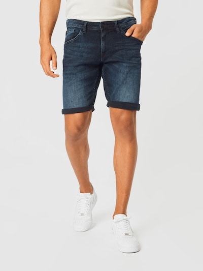TOM TAILOR DENIM Jeans i mörkblå, På modell