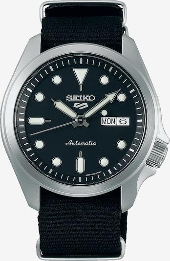 SEIKO Uhr 'Seiko' in schwarz / silber, Produktansicht