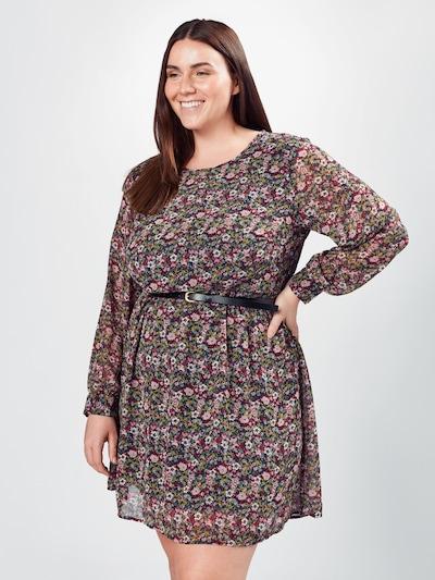 Vero Moda Curve Kleid in braun, Modelansicht