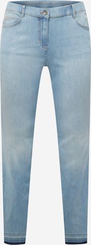 SAMOON Jeans 'Betty' in Blue