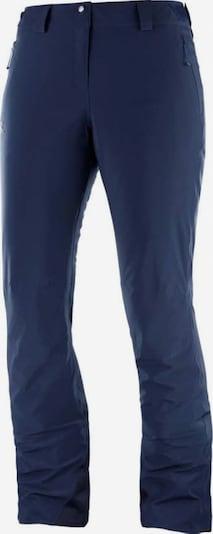SALOMON Skihose 'Icemania' in nachtblau, Produktansicht