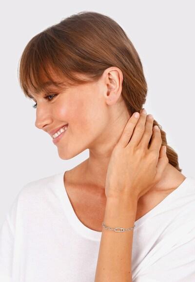 ELLI Armband in de kleur Zilver: Vooraanzicht