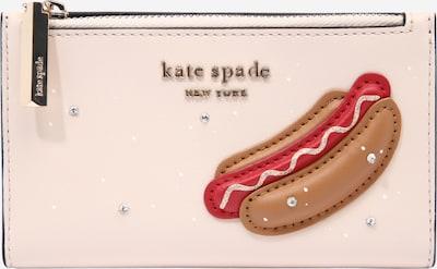 Piniginė 'New York City' iš Kate Spade, spalva – ruda / pastelinė rožinė / raudona, Prekių apžvalga