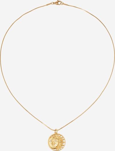 Fräulein Wunder Verižica 'Sonne und Mond' | zlata barva, Prikaz izdelka