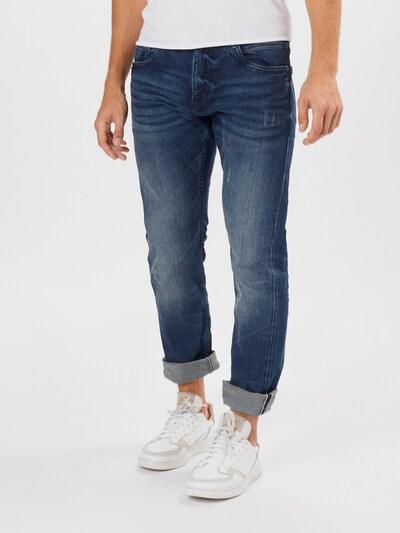 Jeans 'Josh' TOM TAILOR di colore blu denim: Vista frontale