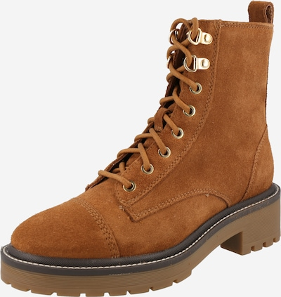 River Island Lace-Up Ankle Boots in Cognac, Item view