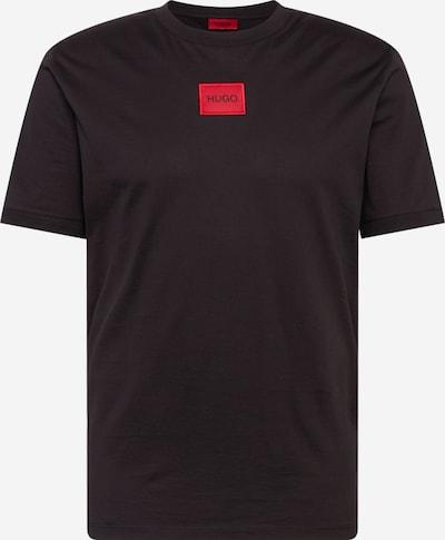 HUGO T-Shirt 'Diragolino' en noir, Vue avec produit