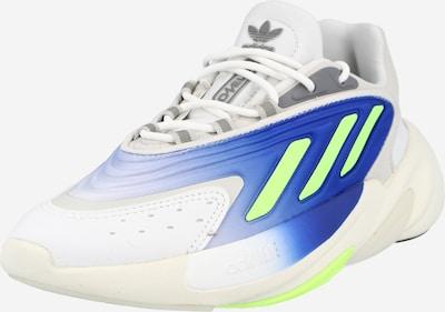 ADIDAS ORIGINALS Låg sneaker 'OZELIA' i blå / neongrön / vit, Produktvy