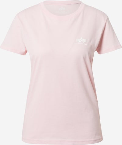 ALPHA INDUSTRIES Camiseta en rosa / blanco, Vista del producto