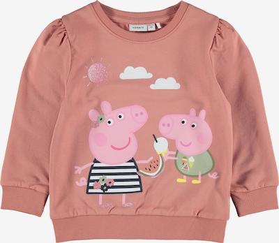 NAME IT Sweatshirt 'Peppa Pig' in de kleur Donkerblauw / Pastelgroen / Rosé / Wit, Productweergave