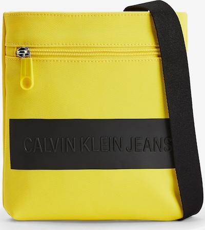 Calvin Klein Jeans Schoudertas in de kleur Geel / Zwart, Productweergave