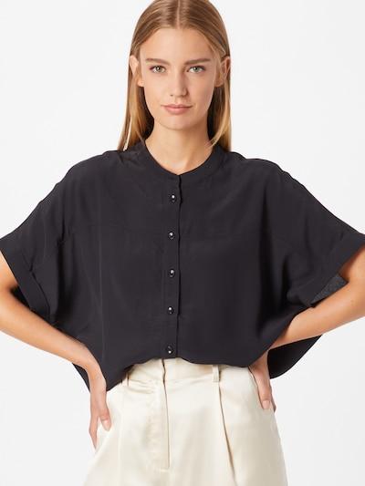 SOAKED IN LUXURY Bluse 'Helia' in schwarz, Modelansicht