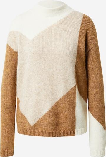 Pullover 'Faizena' BOSS di colore beige / marrone / bianco, Visualizzazione prodotti