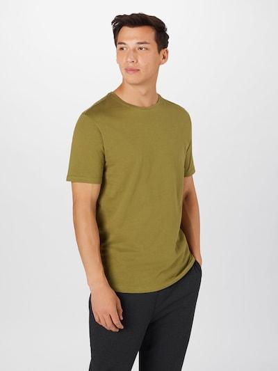 Lindbergh Shirt in de kleur Kaki: Vooraanzicht