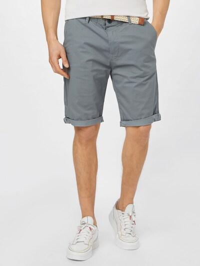 ESPRIT Pantalon chino en pierre / noir, Vue avec modèle