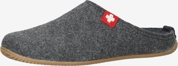Pantoufle Living Kitzbühel en gris