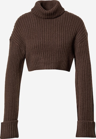 Pull-over 'River' Gina Tricot en marron