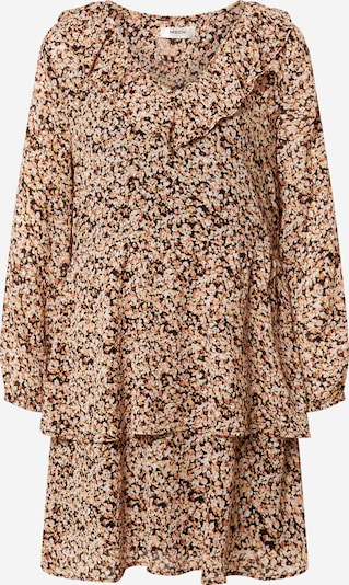 MOSS COPENHAGEN Robe 'Merila Rikkelie' en mélange de couleurs / pêche, Vue avec produit