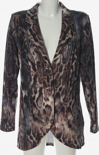 Tredy Long-Blazer in M in braun / schwarz / wollweiß, Produktansicht