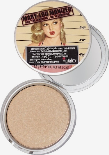 The Balm Highlighter 'Mary-Lou Manizer' in Beige / Gold, Item view