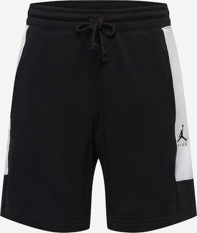 Jordan Broek in de kleur Zwart / Offwhite, Productweergave