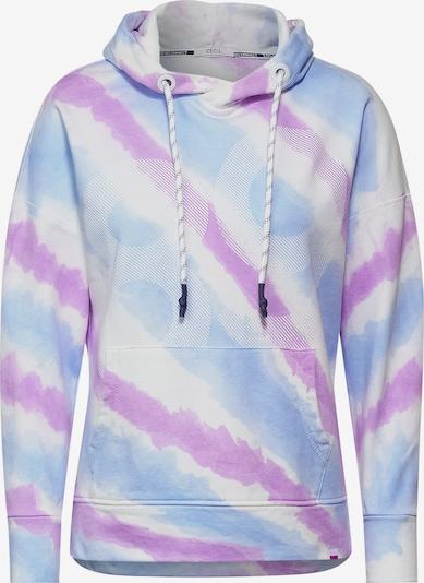 CECIL Sweatshirt in blau / lila / weiß, Produktansicht