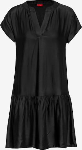s.Oliver Košeľové šaty - Čierna