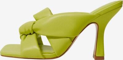 MANGO Sandalette in grasgrün, Produktansicht