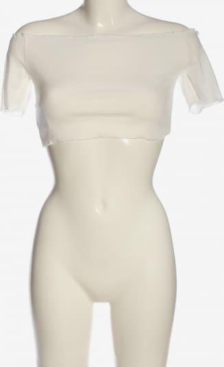 SheIn Cropped Shirt in S in weiß, Produktansicht