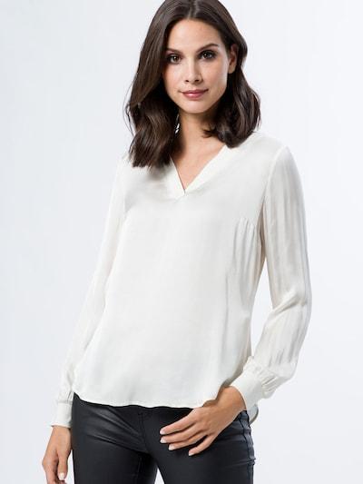 zero Bluse in weiß, Modelansicht