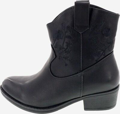 UTS Accessoires Cowboystiefel in schwarz, Produktansicht