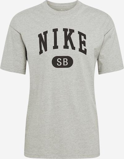 Tricou Nike SB pe gri metalic / gri amestecat, Vizualizare produs