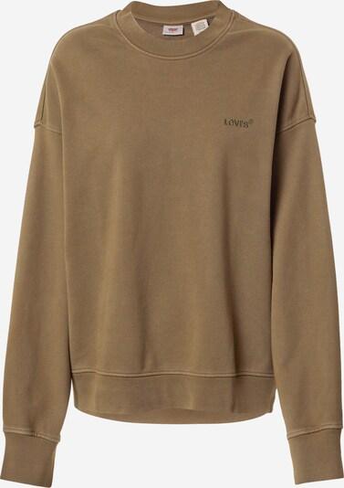 LEVI'S Sweatshirt en oliv, Vue avec produit