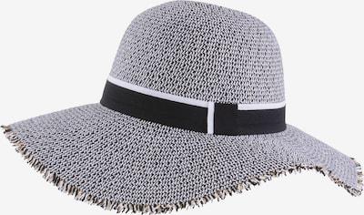 MJM Hut 'Freja' in grau / schwarz / weiß, Produktansicht