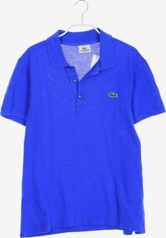 LACOSTE Poloshirt in M in Blau